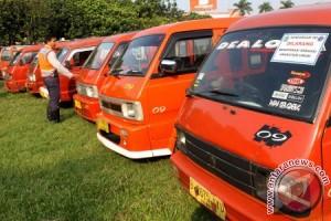 19 Angkot Minibus Bekasi Langgar Izin Operasional