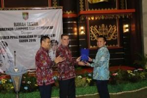Gubernur Lampung Temui Peserta PPRA 55 LEMHANAS