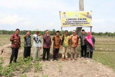 DPD Tinjau Calon Kabupaten Seputih Barat Dan Seputih Timur Lampung
