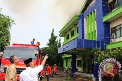 Kantor BPPT Kota Bekasi Terbakar