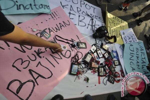 Gawat, Sudah 113 wartawan tewas pada tahun 2018