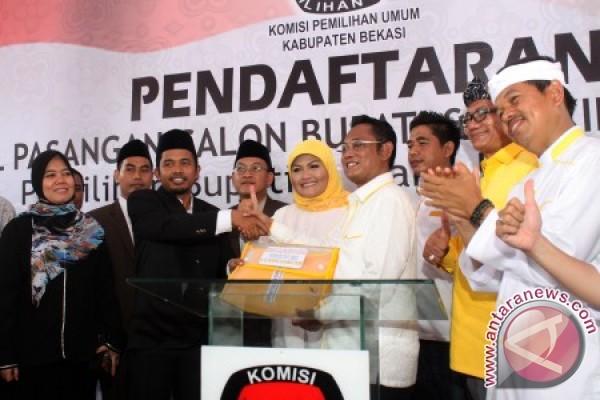 KPU Kabupaten Bekasi Resmi Menetapkan Neneng-Eka Pemenang