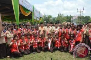 HUT Ke-55 Pramuka Di Lampung