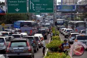 Puluhan Ribu Kendaraan Masuk Kota Bogor
