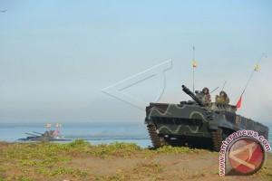 Latihan Tempur Marinir TNI AL