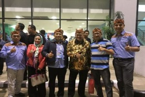 Hadiri Pembukaan PON XIX Jawa Barat