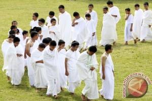 Calon Jamaah Haji Kota Bogor Mulai Manasik