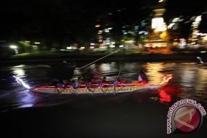 Puluhan 'Dragon Boat' Berlaga Di Tanjungpinang