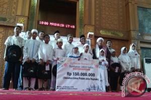 Zakat Sukses Santuni Ribuan Anak Yatim Depok