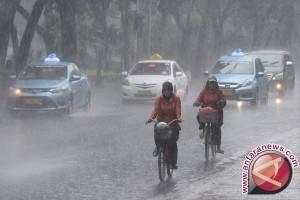 BMKG: Waspadai Hujan Siang Hari Wilayah Bogor