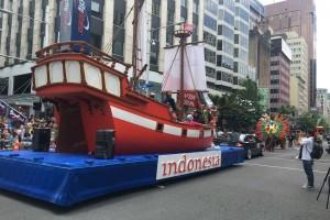 Indonesia Boyong 'Phinisi' Ke Santa Parade Auckland