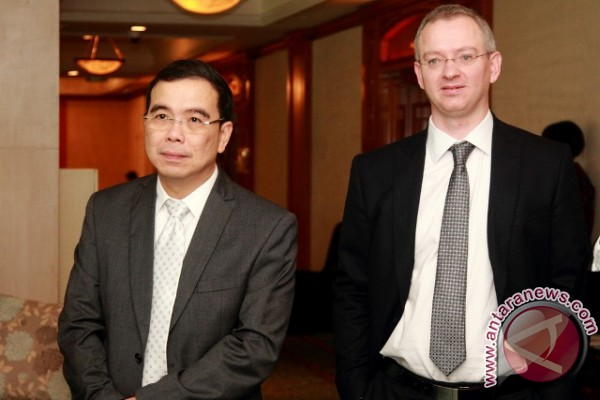 David Jonathan Clarke Direktur Keuangan Indocement Baru