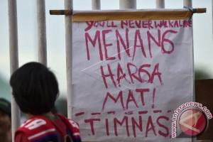 Presiden Jokowi Dukung Timnas Di Pakansari Bogor