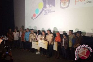 Festival Film Pendek KPU Hasilkan Tiga Pemenang