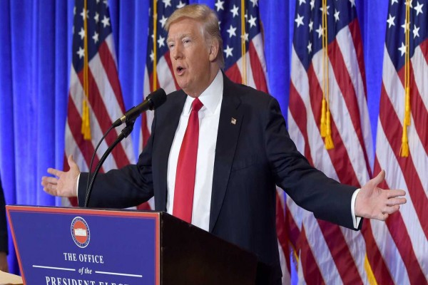 Trump Bertemu Pangeran Saudi di Gedung Putih