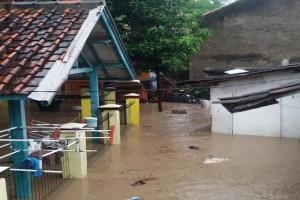 Banjir Landa Dua Kecamatan Di Sukabumi