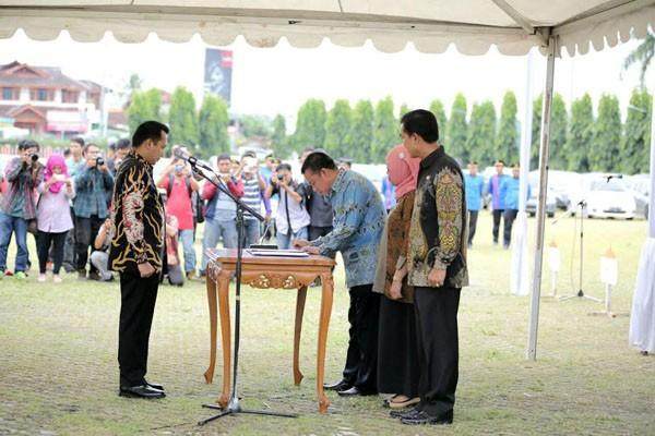 1.098 Pejabat Pemprov Lampung Dilantik