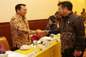 Ridho Ficardo Mengghadiri Munas APPSI Di Semarang
