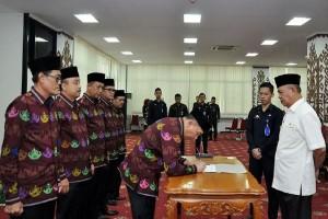 Pengurus Baru LPJK Provinsi Lampung 2016-2020 Dikukuhkan