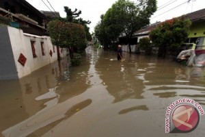 Banjir Mulai Melanda Sejumlah Kawasan Kota Bekasi