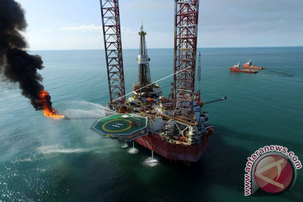 Harga minyak naik pada akhir perdagangan