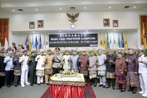 Ajakan Gubernur M. Ridho Ficardo Pada HUT Ke-53 Lampung