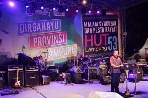 Malam Syukuran HUT Ke-53 Provinsi Lampung Tahun 2017
