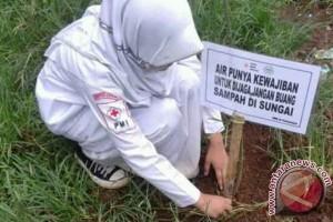 PMI Sukabumi Berkampanye Hemat Air