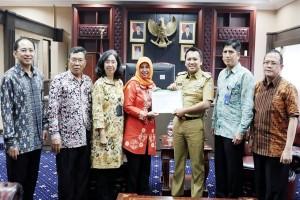 Gubernur Lampung Ridho Ficardo Sampaikan SPT Tahunan E-Filing