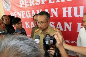 Pemprov Lampung Memberi Perhatian Khusus Terhadap TNBBS