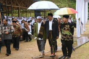 Bupati Purwakarta Bahas Pembangunan Bersama Jokowi