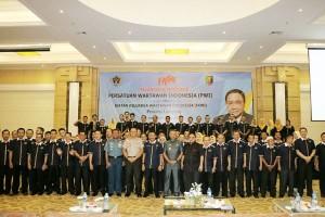 Lampung Mendeklarasikan Jaringan Wartawan Anti Hoax - JAWAH