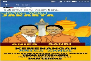 The Challenge of Anies Baswedan: Unite and Prosper Jakarta