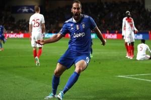 Gonzalo Higuain Sumbang Dua Gol Juventus Di Semifinal Liga Champions