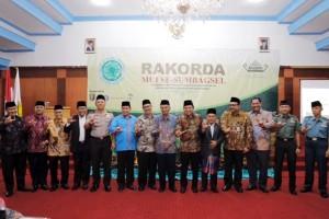 Pengurus MUI Se-Sumbagsel Mengadakan Rakorda di Lampung