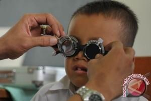 Dinkes: Gangguan Penglihatan Pada Anak Mengkhawatirkan
