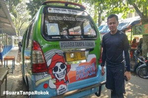 Peluncuran Angkot Sehat Tanpa Rokok Kota Bogor