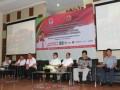 Pejabat PPPON-Kemenpora dan panitia Pesantren Kilat (Sanlat) Ramadhan Kebangsaan 2017 pada penutupan kegiatan tersebut di Cibubur, Jakarta Timur.(FOTO ANTARA/dok/17)