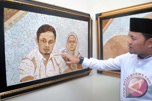 Walikota Bogor Kunjungi Pelukis Cangkang Kulit Telur