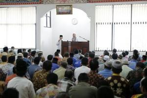 Imam Besar Masjid Al Aqso Palestina Berdoa Bersama Jajaran Pemprov Lampung