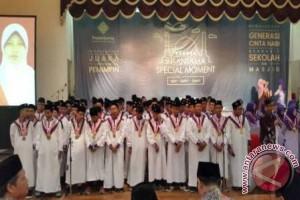 Shalawat Nabi Tandai Wisuda SMPIT-SMAIT Insantama Bogor