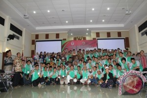 150 Pemuda Sejumlah Provinsi-Jabodetabek Megikuti Santlat Kebangsaan