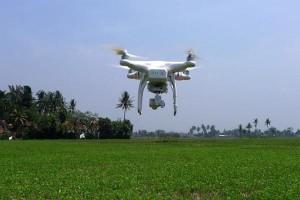 Mahasiswa IPB Gunakan Drone Untuk Pemetaan Pertanian