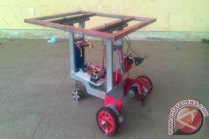 Mahasiswa IPB Ciptakan Robot Penolong Panen Timun