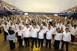1.800 Penyuluh Pertanian se-Lampung Menerima Bantuan
