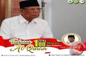 Peringatan 100 Hari KH Hasyim Diisi Tadarusan
