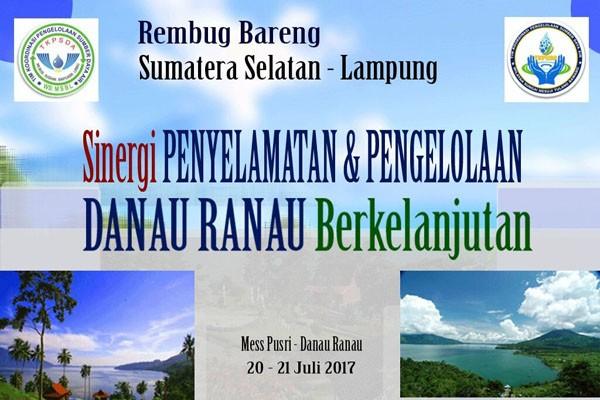 Lampung Dan Sumsel Sepakat Mengelola Danau Ranau