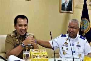 Gubernur Lampung-Kemenhub Sepakati KA Babaranjang Keluar Bandarlampung