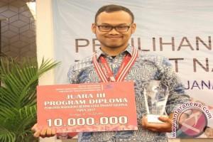 Mahasiswa Diploma IPB  Juara 3 Mahasiswa Berprestasi Nasional 2017