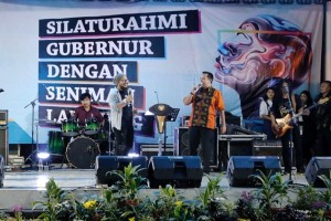 Gubernur Lampung Meminta Seniman Gerakkan Ekonomi Kreatif